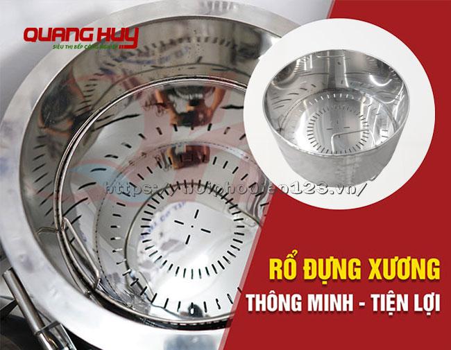 Giỏ đựng xương nồi phở điện Quang Huy