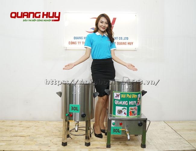Nồi nấu phở điện 30 lit Quang Huy