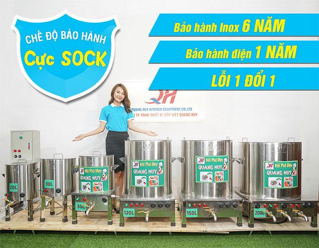 Mua nồi điện nấu phở Quang Huy giá xưởng