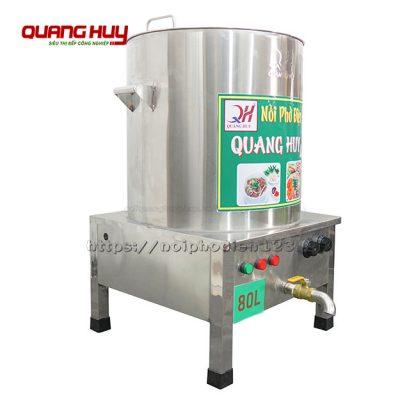 Nồi điện nấu nước phở 80 lit Quang Huy