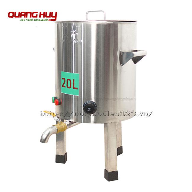 Nồi điện nấu phở 20 lit không bệ Quang Huy