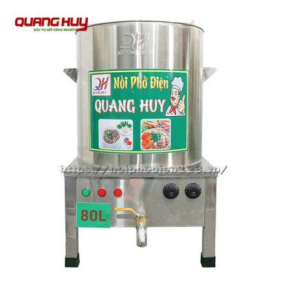 Nồi điện nấu phở 80 lít Quang Huy