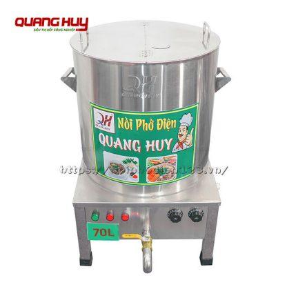 Nồi điện inox nấu phở 70 Lit Quang Huy