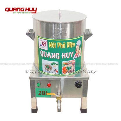 Nồi inox nấu phở bằng điện 20 Lit Quang Huy