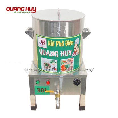 Nồi inox nấu phở điện 30 lit Quang Huy