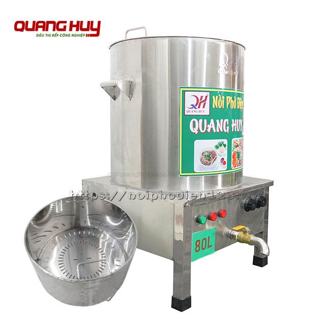 Nồi nấu nước dùng điện 80 lit Quang Huy