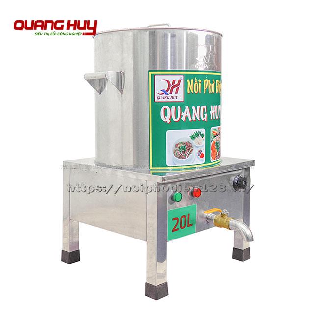 Nồi trần bún phở 20 lit Quang Huy bằng điện 220V