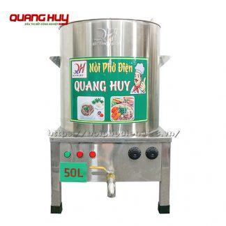 Nồi nấu phở điện 50 lit Quang Huy