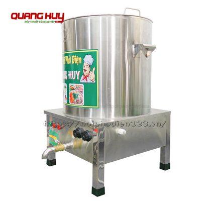 Nồi nấu phở inox điện 50 lít Quang Huy giá xưởng