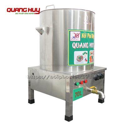 Nồi điện nấu phở inox 70 lit Quang Huy