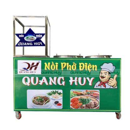Tủ bán phỏ liền nồi Quang Huy