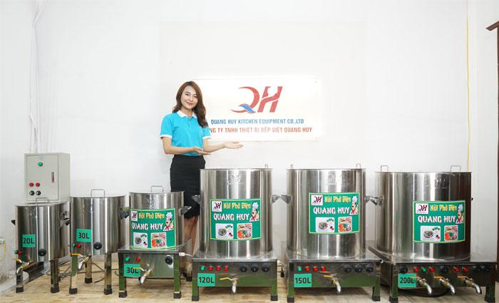 Mẫu nồi phở điện Quang Huy