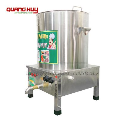 Nồi inox điện nấu phở 60 lít Quang Huy báo giá