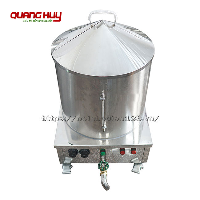 Nồi bánh cuốn nóng Inox 304 Quang Huy