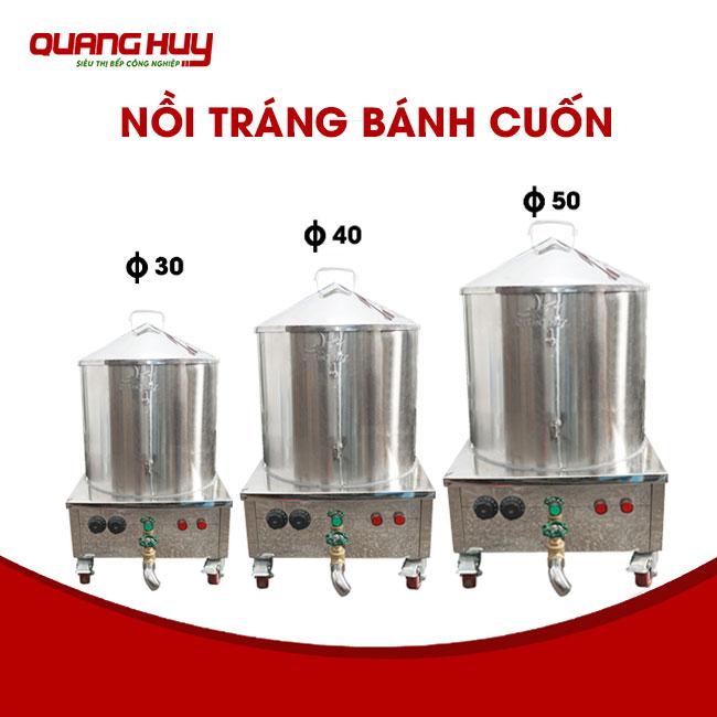 Nồi điện hấp bánh cuốn thiết kế tại xưởng sản xuất Quang Huy