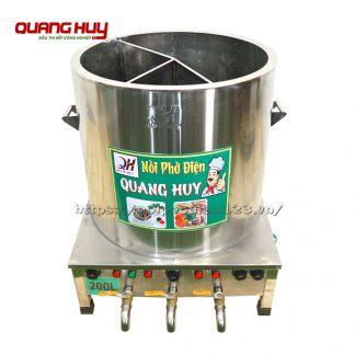 Nồi điện nấu phở 3 ngăn Quang Huy