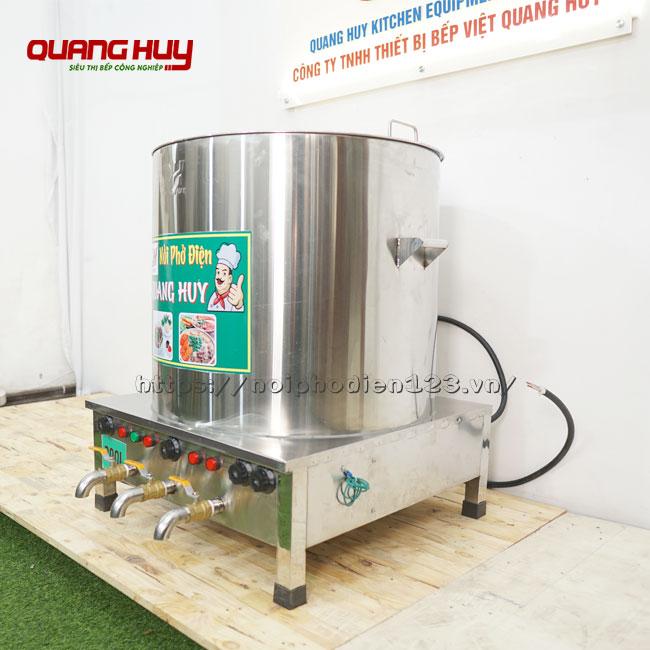 Nồi điện nấu phở 3 ngăn Quang Huy sản xuất và phân phối