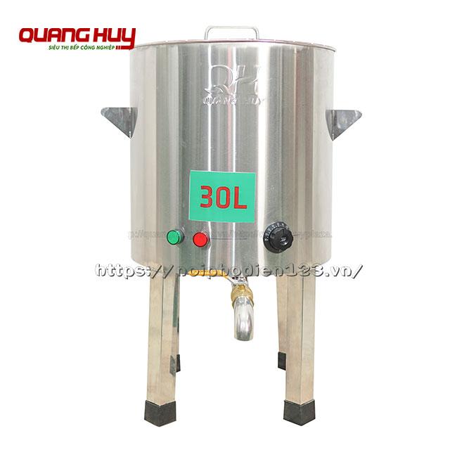Nồi điện nấu phở không bệ 30 lit hàng Việt Nam
