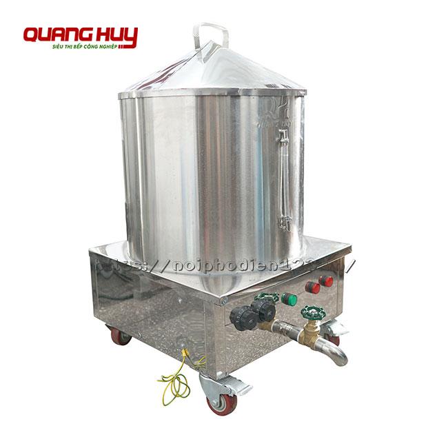 Nồi điện tráng bánh cuốn 40cm do Quang Huy sản xuất