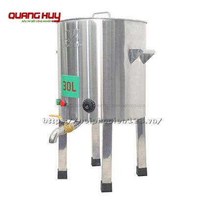 Nồi nấu phở inox điện 30 lit Quang Huy