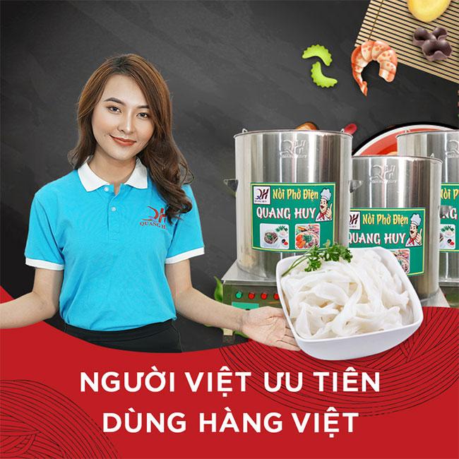 Nồi phở Quang Huy hàng Việt Nam chất lượng cao