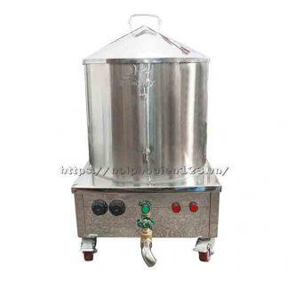 Quang Huy sản xuất và phân phối nồi tráng bánh cuốn bằng điện 30cm