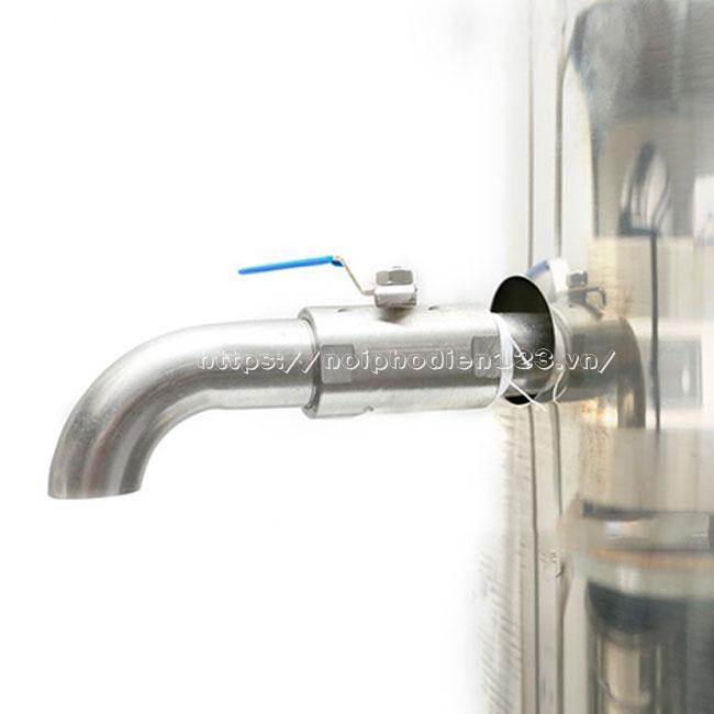 Vòi xả nước nồi phở nhập khẩu bằng điện