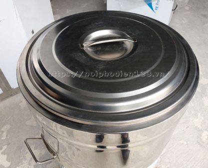 Vung nồi nấu nước lèo nấu phở nhập khẩu bằng điện