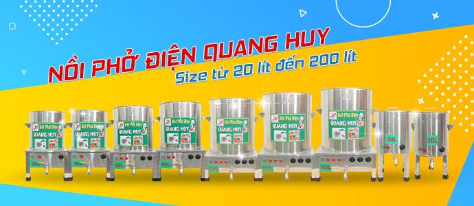 50+ nồi phở Quang Huy
