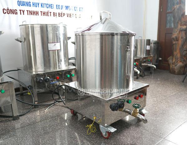 Nồi điện làm bánh cuốn Quang Huy chất lượng cao