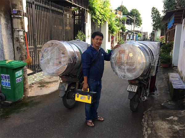 Nồi hủ tiếu, nồi phở điện Quang Huy giao hàng Toàn quốc
