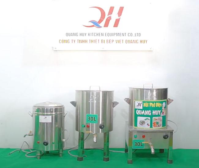 Nồi phở thiết bị bếp việt Quang Huy