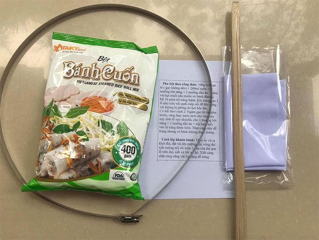 Pha bột bánh cuốn Tài Ký gói 400g