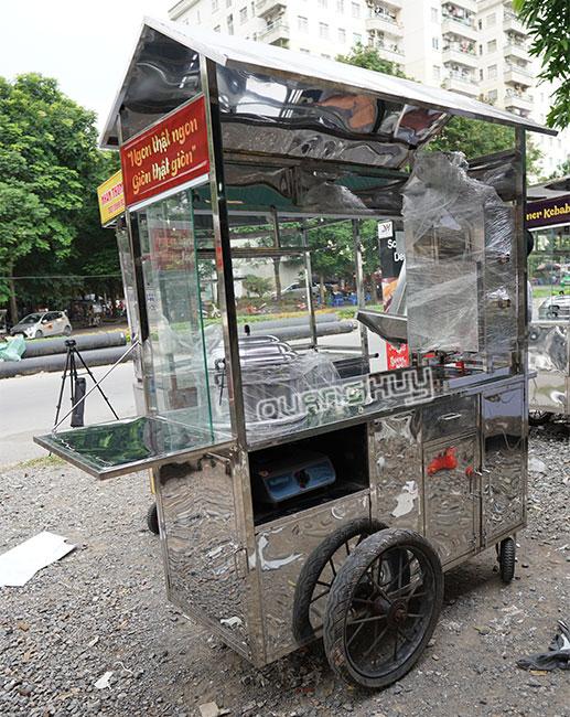 Cấu tạo xe bán xôi Quang Huy
