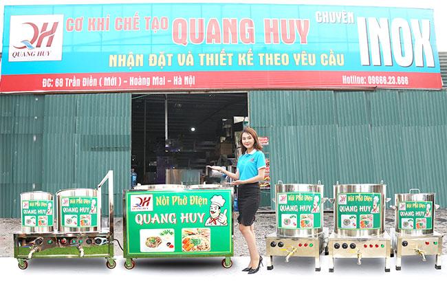 Địa chỉ mua nồi phở chính hãng chất lượng tốt tại Quang Huy