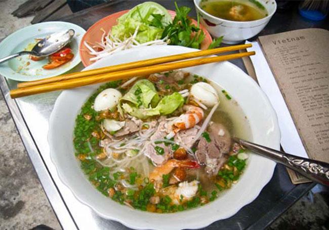 Hủ tiếu gõ Quảng Ngãi ăn là nghiền
