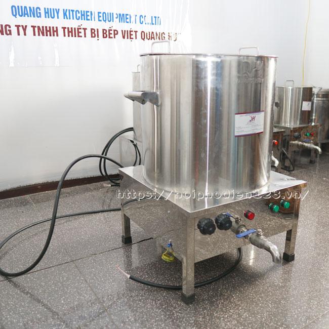 Nồi điện nấu nước lèo Quang Huy sản xuất