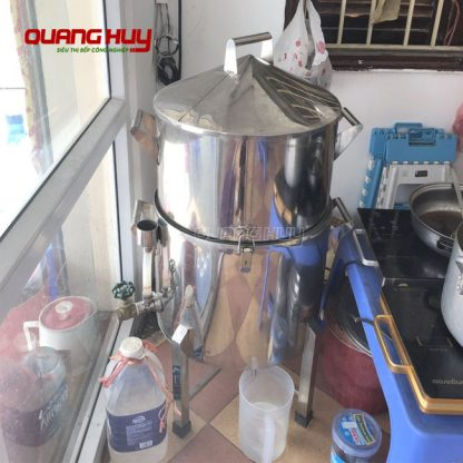 Mẫu nồi đồ xôi bằng điện Quang Huy