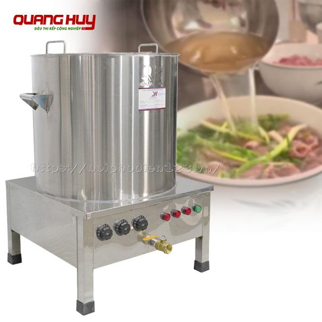 Nồi nấu nước lèo bằng điện cho bún, phở, miến quán ăn, nhà hàng, giá nồi nấu nước lèo bằng điện