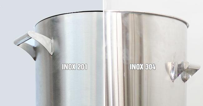 Nồi xôi inox 201 inox 304