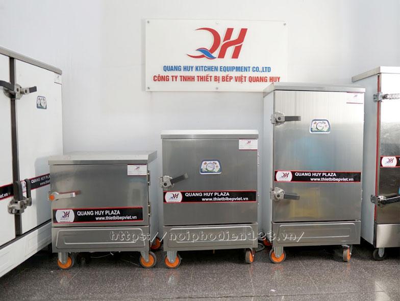 Quang Huy phân phối nhiều mẫu tủ cơm dùng gas và điện