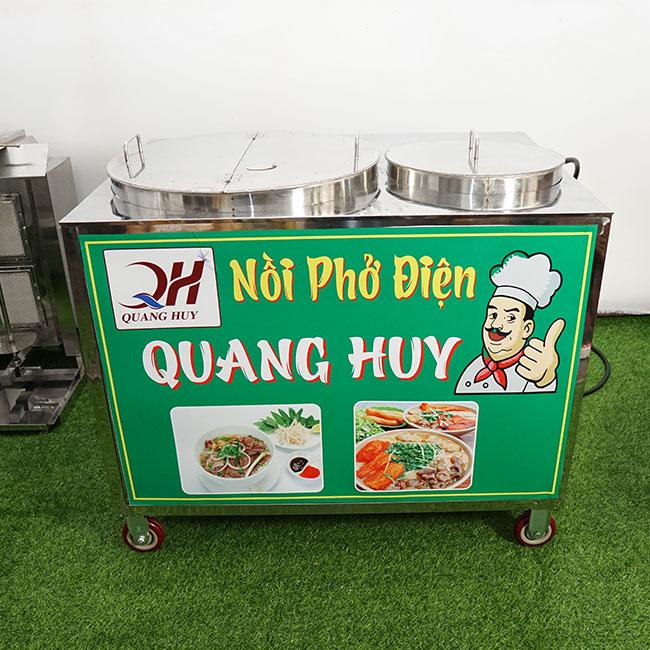 Quang Huy sản xuất và phân phối nồi phở điện chung bệ giá rẻ