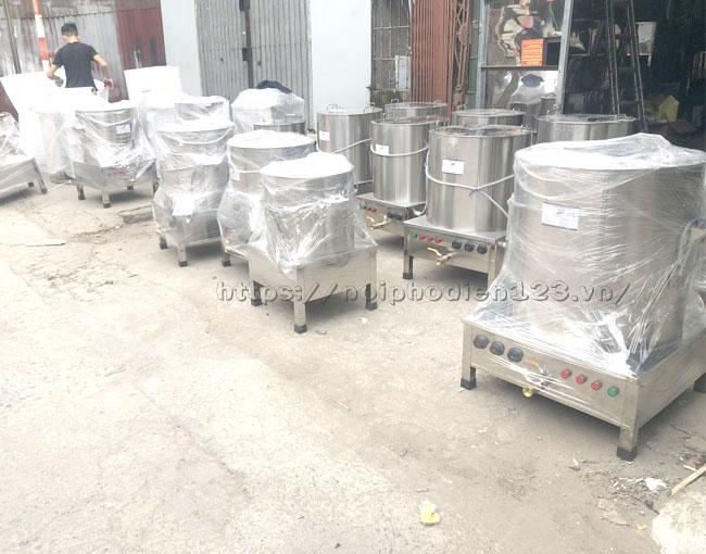 Quang Huy trực tiếp sản xuất và phân phối nồi phở điện Toàn quốc, giá nồi nấu nước lèo bằng điện