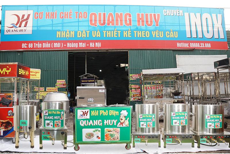 Xưởng sản xuất nồi phở điện Quang Huy