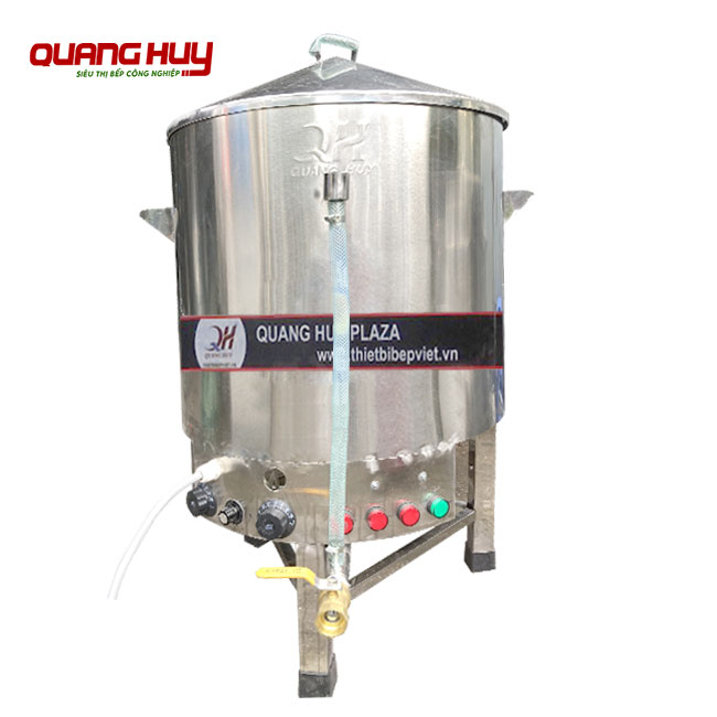 Nồi nấu xôi 1 tầng Quang Huy sản xuất và phân phối