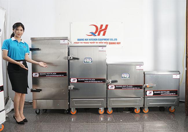 Quang Huy phân phối các mẫu tủ hấp công nghiệp