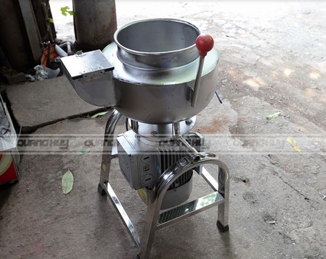 Máy xay thịt làm giò chả lụa Quang Huy