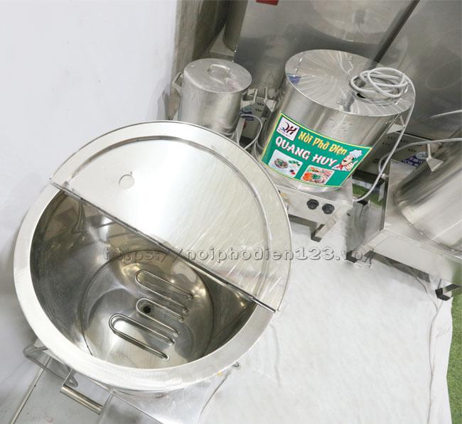 Nồi điện sử dụng thanh nhiệt cho công suất đun nấu cao