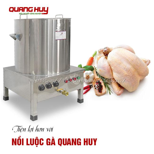 Nồi luộc gà Quang Huy
