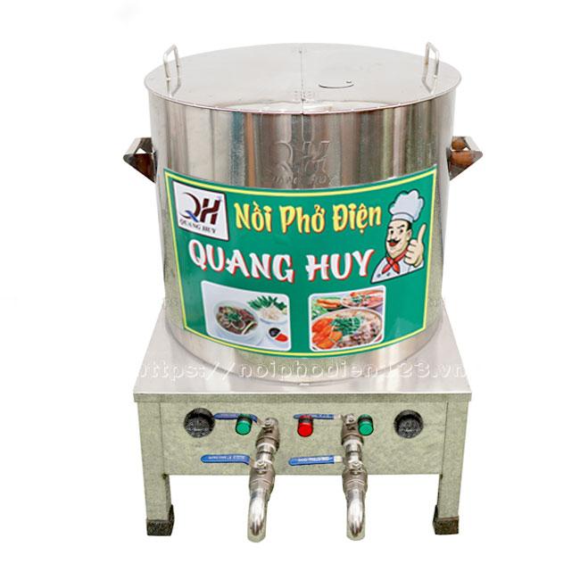 Nồi nấu phở bằng điện 2 ngăn Quang Huy